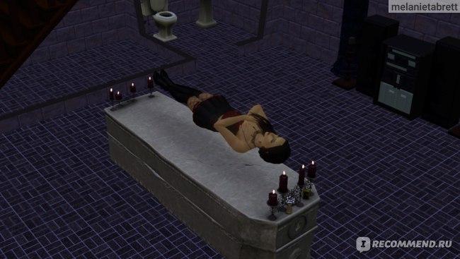 """The Sims 3 """"В сумерках"""" вампирский сон"""