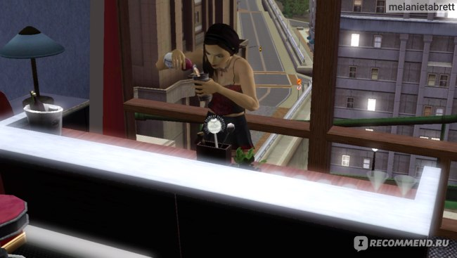 "The Sims 3 ""В сумерках"" смешивание напитков"