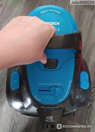 Пылесос BOSCH BGS05X240 фото