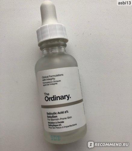 Концентрат The Ordinary Salicylic Acid 2% Solution фото