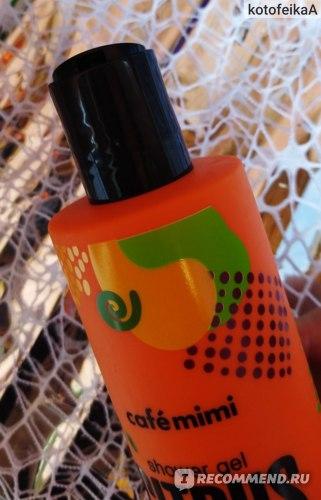 Гель для душа Café mimi Citrus and Basil (Цитрус и Базилик)