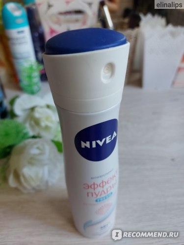 Антиперспирант NIVEA Эффект пудры Fresh фото