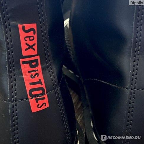 Ботинки Dr.Martens 1460 Sex Pistols фото