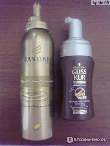 Суфле для волос Pantene Pro-V Увлажнение и восстановление глубокое фото