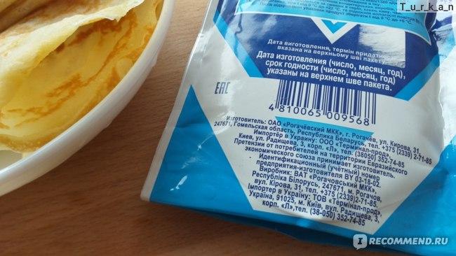 Молоко сгущенное Рогачёвский молочноконсервный комбинат цельное с сахаром