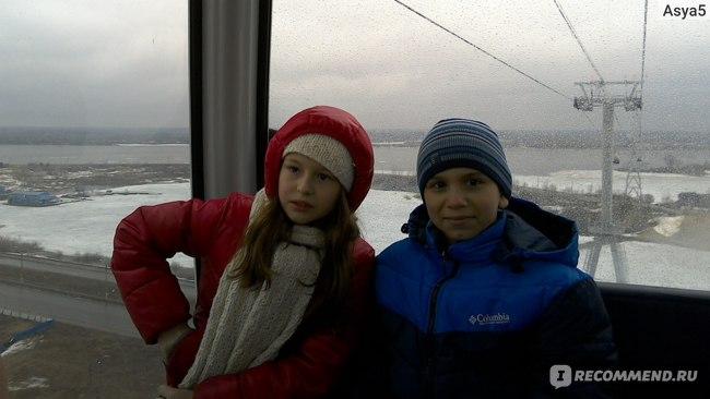 Дети на нижегородской канатной дороге едут со скидкой.