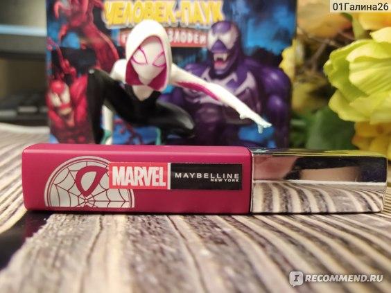 Жидкая матовая помада MAYBELLINE Super Stay Matte ink Marvel оттенок 20