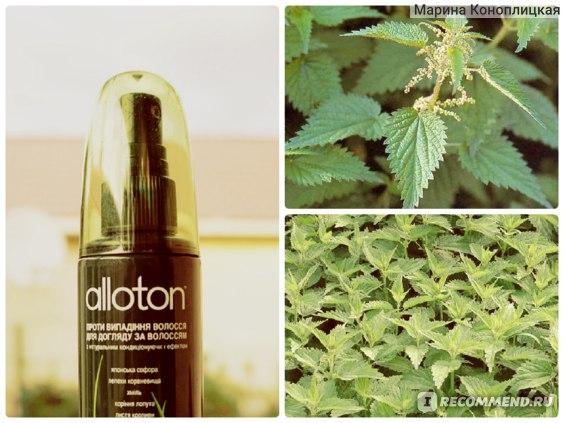 Спрей для волос Alloton фито против выпадения фото