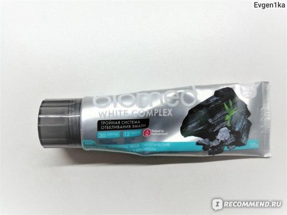 Зубная паста Biomed White complex фото