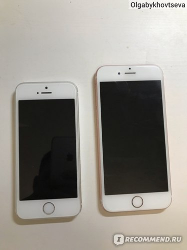 Iphone 6S и 5S представляют разные эпохи в Apple