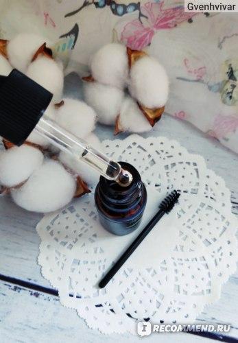 Сыворотка для роста ресниц и бровей Aliexpress 10ml Castor Oil Hair Growth Serum for Eyelash Growth Lifting Eyelashes Thick Eyebrow Growth Enhancer Eye Lashes Serum Mascara фото