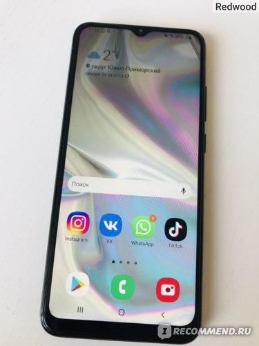 Мобильный телефон Samsung Galaxy A02s 32GB фото