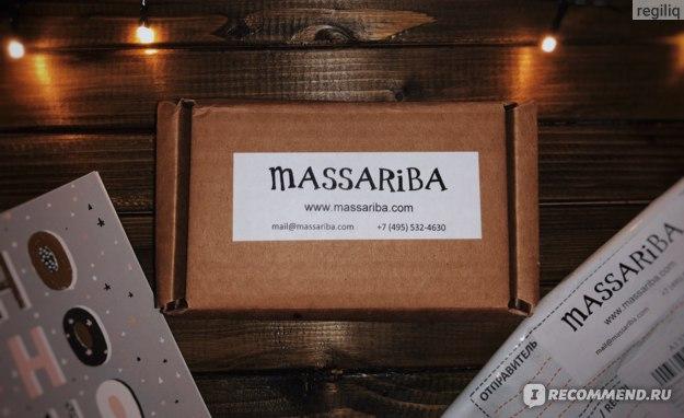Сайт Massariba.com - интернет-магазин натуральных и органических средств по уходу за собой и своим домом. фото