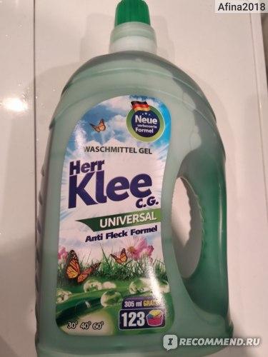 Гель для стирки Klee Herr универсальный 4 л/114 фото
