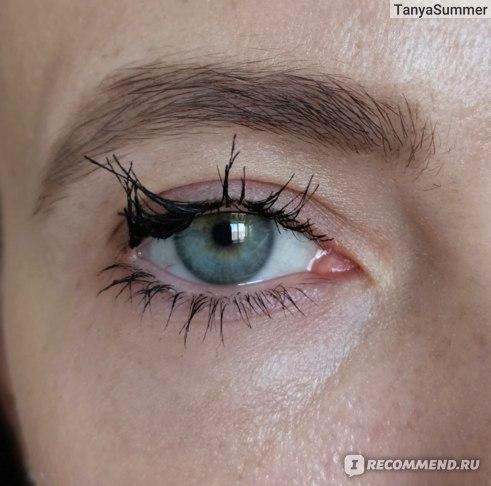 Тушь для ресниц Guerlain Mad Eyes Mascara Объем и подкручивание. Если потереть глаза, ресницы слипаются