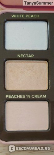 Тени для век Too Faced Sweet peach eyeshadow palette фото
