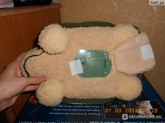 "Ночник детский Merry Черепаха ""Звездное небо"" фото"