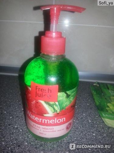 Жидкое мыло Fresh Juice Lemongrass & Bamboo фото