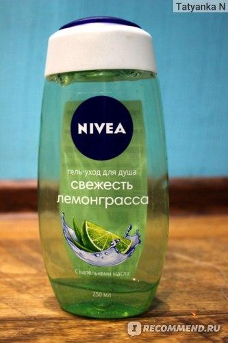 Гель для душа NIVEA Лемонграсс и масло фото