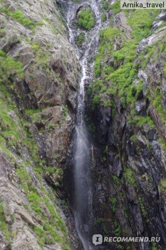 Суфруджинский водопад - потоки