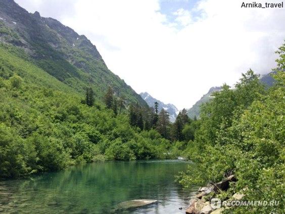 Одно из Бадукских озер