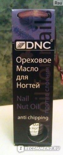 """Ореховое масло для ногтей """"DNC"""" против слоения фото"""