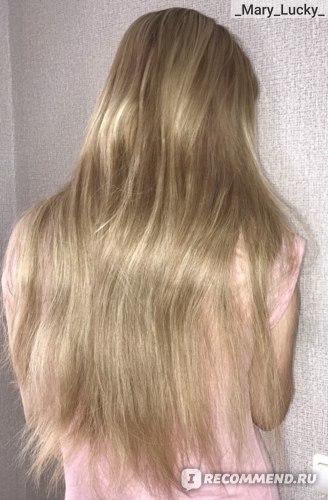 Волосы до использования масла RICHE Hair Oil Amla