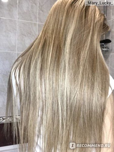 Волосы после использования масла RICHE Hair Oil Amla через 4 дня