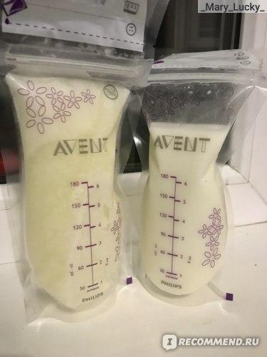 Пакеты с молоком