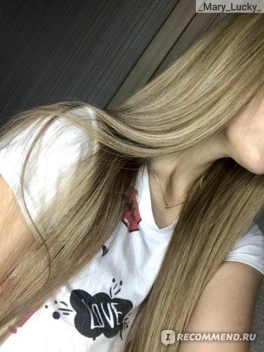 Волосы после использования масла RICHE Hair Oil Amla