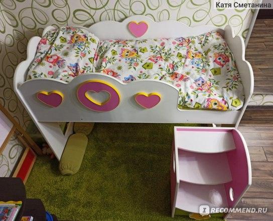 Кровать-чердак для девочки отзывы