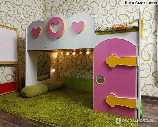 Кровать-чердак Принцесса Mebel Arts отзывы