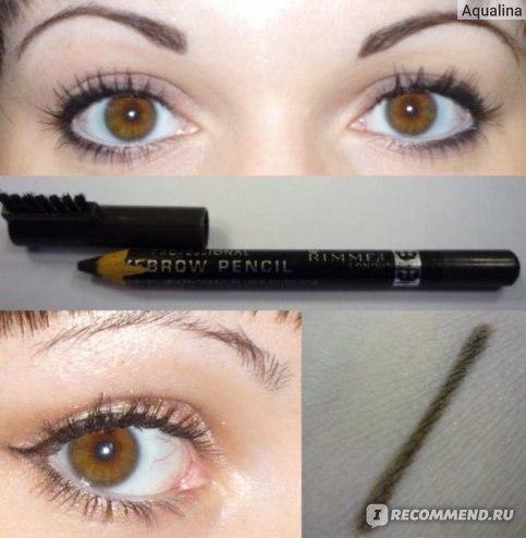 Карандаш для бровей Rimmel Professional Eyebrow Pencil фото