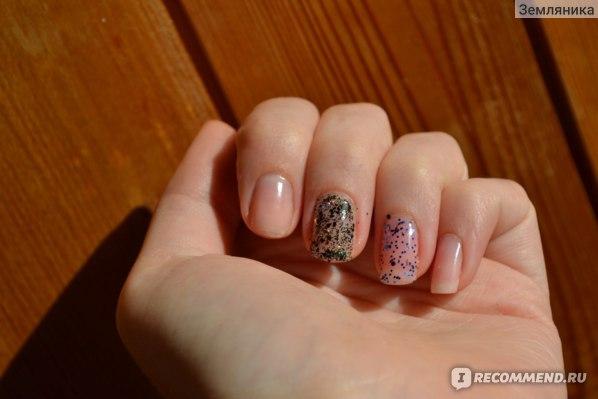 Лак для ногтей Flormar Glitter фото
