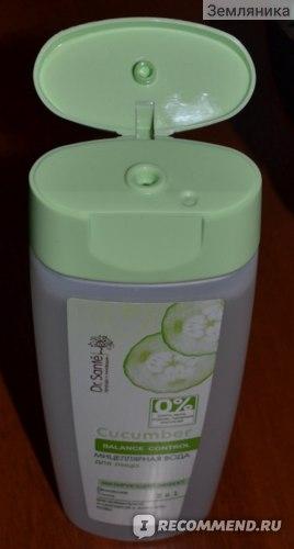 Мицеллярная вода Dr.Sante Cucumber фото