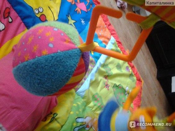 Коврик развивающий taf toys 2 in 1 фото