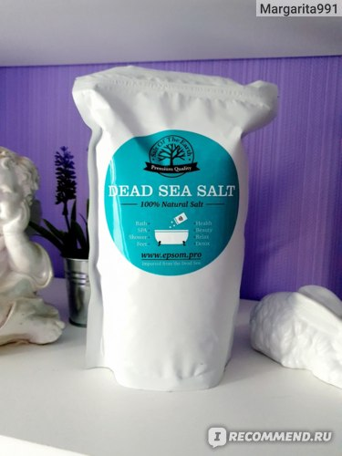 Соль для ванн Salt Of The Earth Мертвого моря