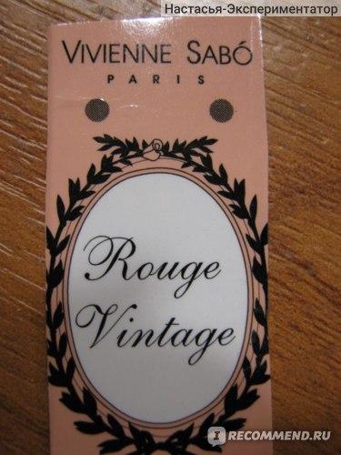 Губная помада Vivienne sabo Rouge Vintage фото