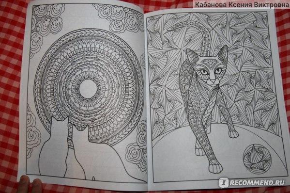 Раскраска-зендудл. Кототерапия. Янина Миронова - «наконец ...