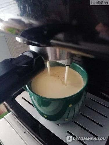 Одно удовольствие наблюдать за приготовлением кофе...