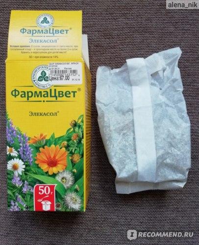 Лекарственные травы КРАСНОГОРСКЛЕКСРЕДСТВА Элекасол фото