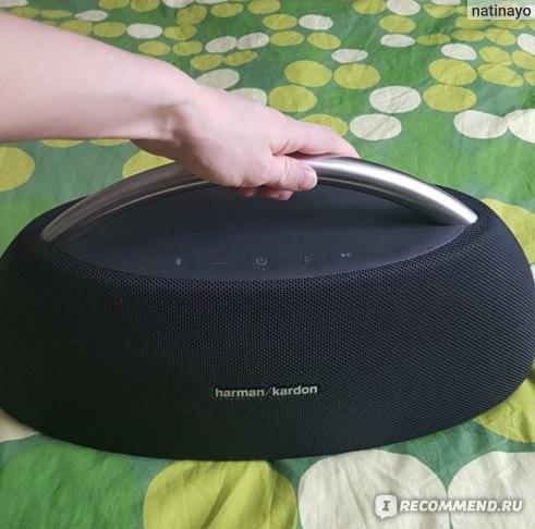 Беспроводная портативная акустика Harman Kardon Go + Play Wireless Mini Black фото