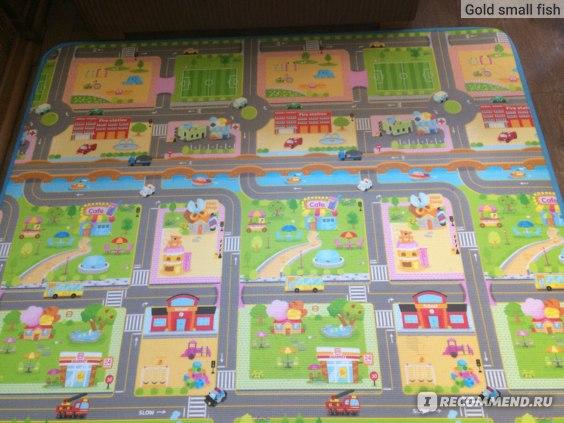 Детский игровой коврик Parklon Double sided Prime Living Mat фото