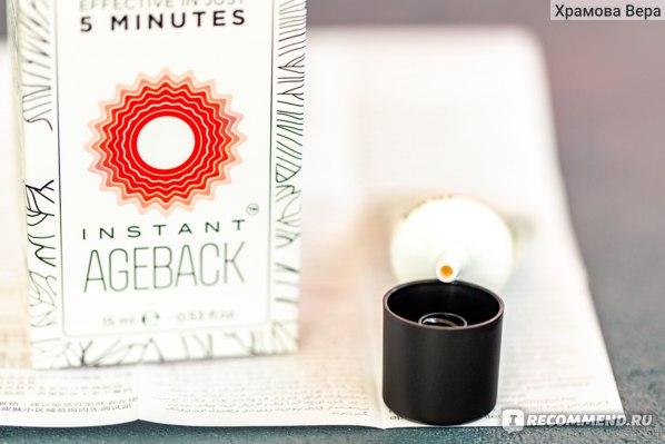 Instant Ageback - мгновенный крем-лифтинг