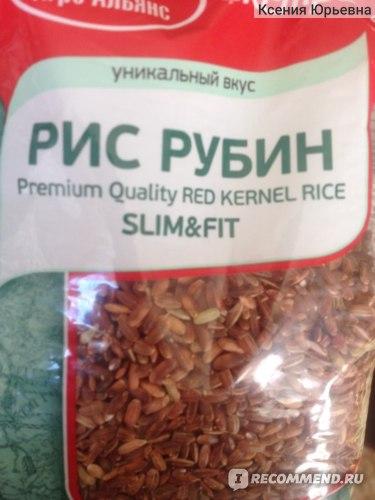 Рубиновый рис при похудении
