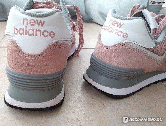Кроссовки New Balance WL 574  UNC цвет 999