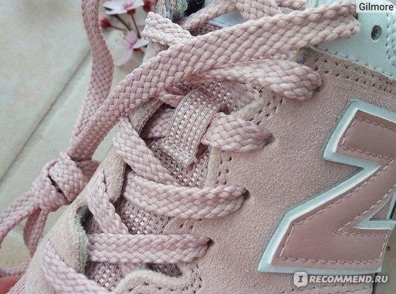 Кроссовки New Balance WL 574  UNC цвет 999, рамка для шнурков