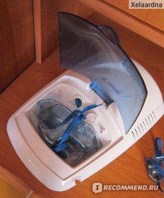 Компрессорный небулайзер (ингалятор) B.Well WN-112 К фото