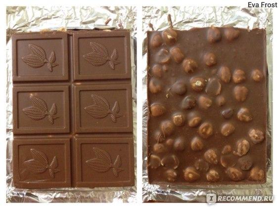 орехи с добавлением шоколада)))