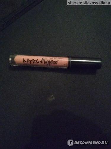 Блеск для губ NYX Professional Makeup Lip Lingerie Glitter фото